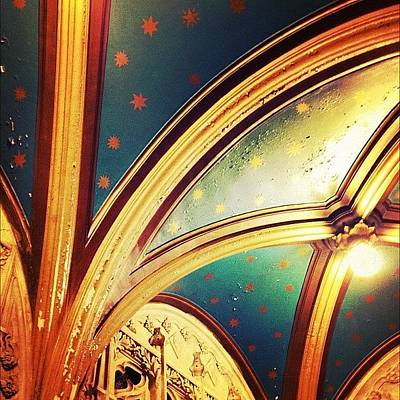 Star Photograph - Ceiling Detail by Natasha Marco