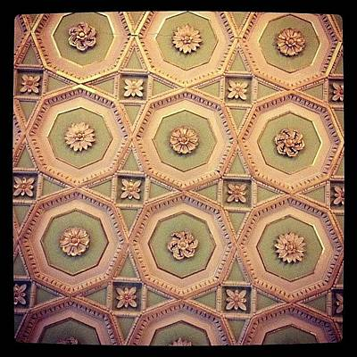 Decorative Wall Art - Photograph - Ceiling by Emma Hollands