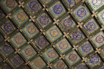 Ceiling Tiles Photograph - Ceiling Tiles In The Forbidden City by Sam Bloomberg-rissman