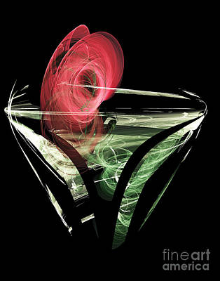Election Day Digital Art - Celebrate With A Cocktail by Ed Churchill