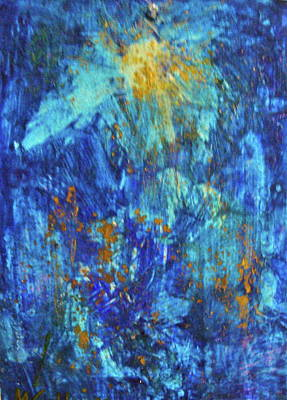 Art Print featuring the painting Celebration 2 by Mary Sullivan