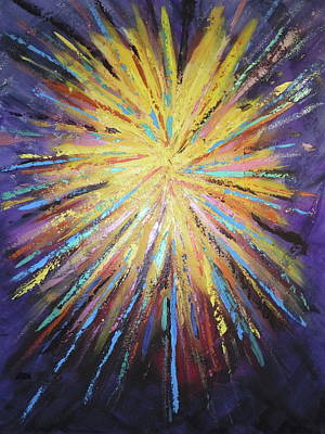 Outreach Painting - Celebration by Deborah Brown Maher