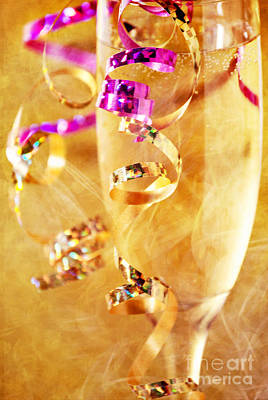 Champagne Photograph - Celebration by HD Connelly