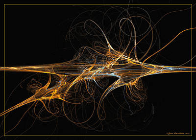 Digital Art - Celebration Of Impulses by Sipo Liimatainen