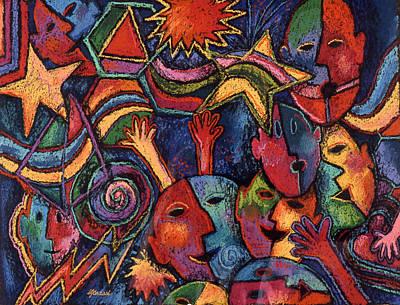 Celebration Art Print by Susan  Brasch