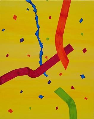 Wall Art - Painting - Celebrer by Mari Dickinson