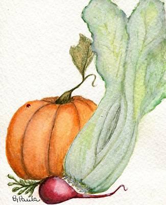Celery Dish Art Print