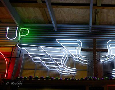 Photograph - Celestial Neon by Cheri Randolph