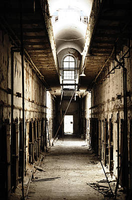 Cell Block Number 9 Art Print by Bill Cannon