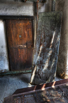 Photograph - Cell Doors - Eastern State Penitentiary by Lee Dos Santos