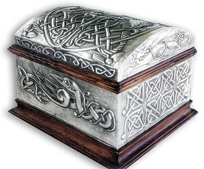 Celtic Chest 1 Art Print by Rodrigo Santos