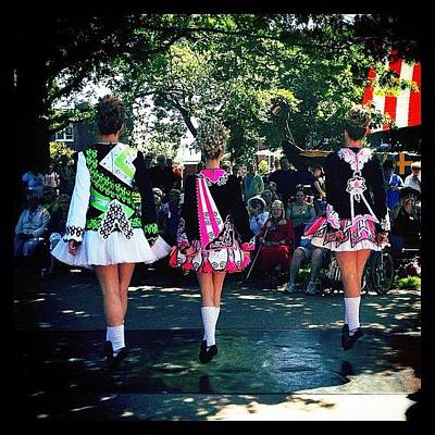 Celtic Dancing @ Syttende Mai Art Print