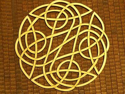 Celtic Knot Print by Keith Cichlar