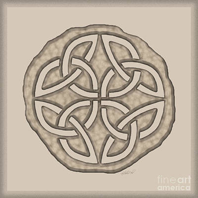 Photograph - Celtic Lost Token Knotwork by Kristen Fox