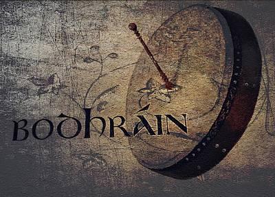Digital Art - Celtic Music by Julie Williams