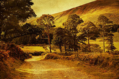Celtic Spirit. Wicklow  Mountains. Ireland Art Print by Jenny Rainbow