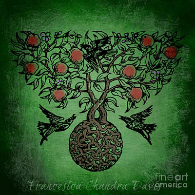 Celtic Tree Of Life Art Print by Sacred  Muse