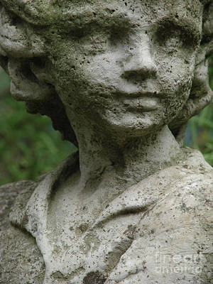Photograph - Cemetery Boy by Mark Holbrook