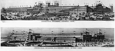 Centennial Expo, 1876 Art Print