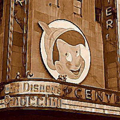 Center Theatre In New York City 1940 Art Print by Dwight Goss