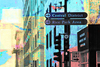 Central District Art Print