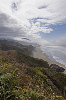 Art Print featuring the photograph Central Oregon Coast Vista by Mick Anderson
