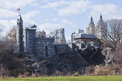 Photograph - Central Park Castle by Theodore Jones