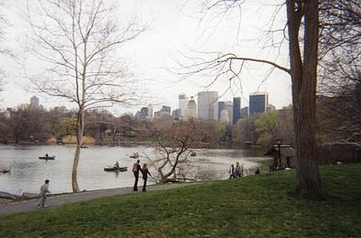Photograph - Central Park Lake by Melissa Partridge