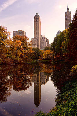 Photograph - Central Park by Michael Dorn