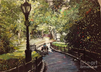 Central Park Upper East Side Art Print by Barry Rothstein