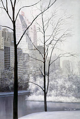 Central Park Vertical Art Print