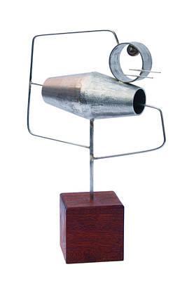 Acciaio Inox Sculpture - Centrifugo by Salvatore Daddario