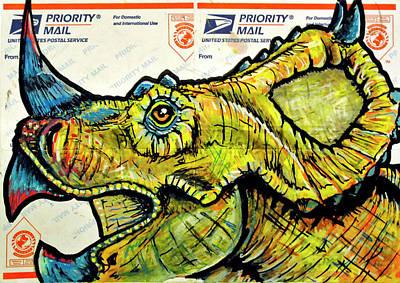 Centrosaurus Art Print