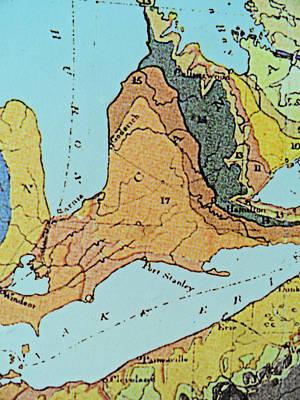 Century Old Map Print by Cyryn Fyrcyd