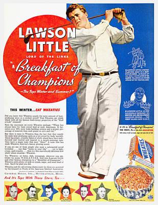 Cereal Advertisement, 1937 Art Print by Granger