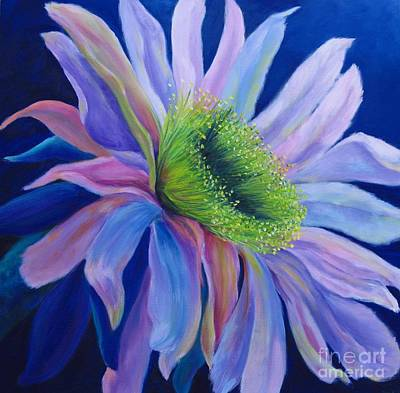 Night Blooming Cereus Painting - Cereusly I by S J Killian