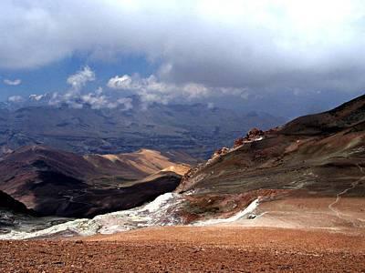 Photograph - Cerro El Pintor Chile by Sandra Lira