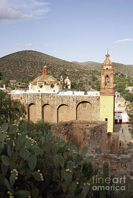 Photograph - Cerro San Pedro Church Mexico by John  Mitchell