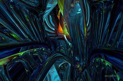 Certain Inner Peace Fx  Art Print by G Adam Orosco