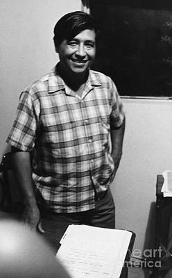 Cesar Chavez (1927-1993) Art Print