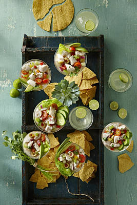 Y120817 Photograph - Ceviche by Lew Robertson