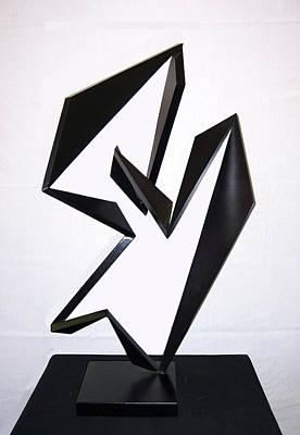 Sense Of Movement Sculpture - Cha Cha Cha by John Neumann