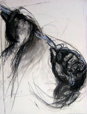 Drawing - Chain by Gabrielle Wilson-Sealy