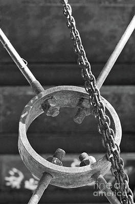 Photograph - Chain Metal by Stephen Mitchell