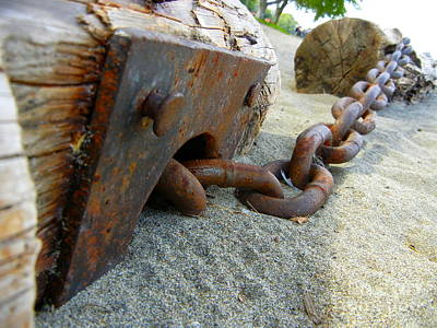 Photograph - Chained by KD Johnson