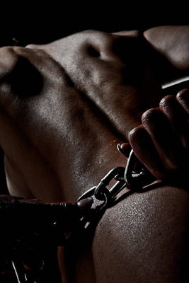 Photograph - Chained by Scott Sawyer