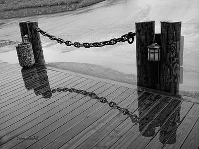 Photograph - Chained Together by Donna Blackhall