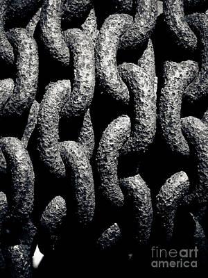 Chains Art Print by John Buxton