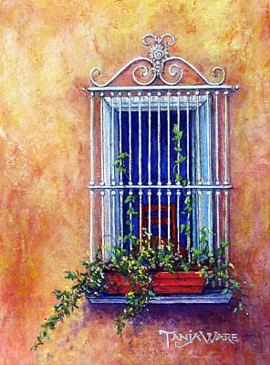 Chair In The Window Art Print by Tanja Ware