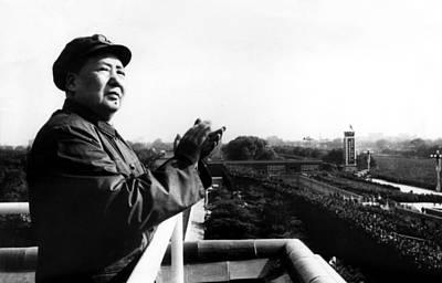 Applaud Photograph - Chairman Mao Tse Tung, Aka Mao Zedong by Everett